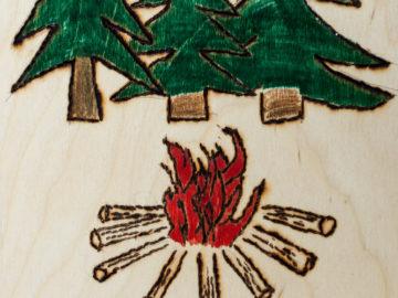 Берегите лес от огня